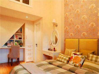 100平米三室两厅混搭风格楼梯间设计图