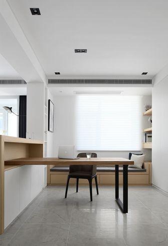 80平米日式风格书房装修效果图