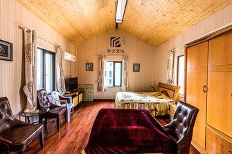130平米三室两厅田园风格阁楼效果图