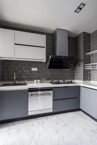 110平米三北欧风格厨房欣赏图