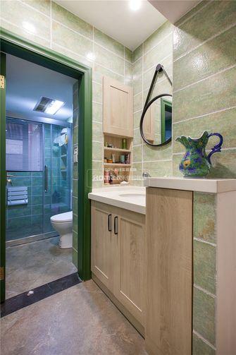 140平米四室两厅田园风格卫生间图片