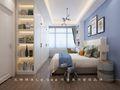 130平米三中式风格卧室图