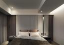 140平米三室三厅地中海风格卧室装修案例