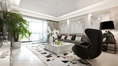 5-10万110平米三室一厅现代简约风格客厅效果图