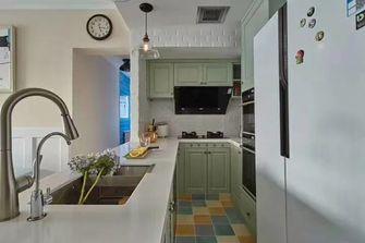 90平米三室一厅美式风格厨房设计图