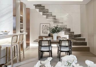 80平米公寓中式风格餐厅装修效果图
