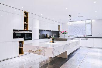 140平米三室五厅现代简约风格厨房图