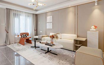 130平米三室两厅英伦风格客厅图片
