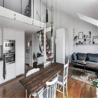 70平米别墅现代简约风格客厅装修案例