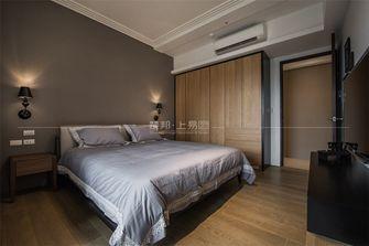 120平米三室一厅日式风格卧室设计图