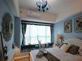 110平米地中海风格卧室飘窗设计图