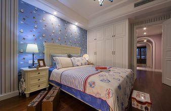 110平米三室三厅美式风格卧室鞋柜设计图