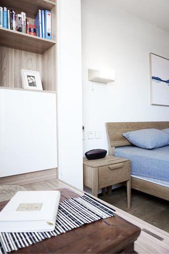 80平米三室一厅宜家风格卧室效果图