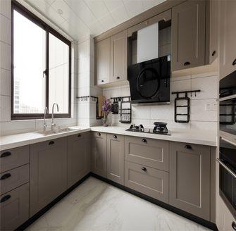 90平米三室两厅美式风格厨房装修效果图