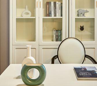 100平米三室一厅混搭风格书房装修图片大全