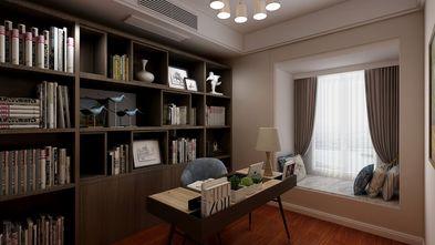 130平米四室两厅现代简约风格书房设计图