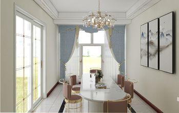 130平米三室两厅东南亚风格餐厅图