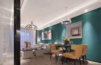 110平米欧式风格餐厅图