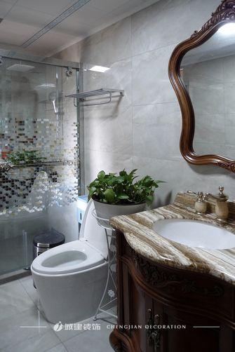 130平米三室两厅新古典风格卫生间装修图片大全