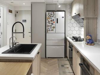 90平米三室一厅北欧风格厨房装修图片大全