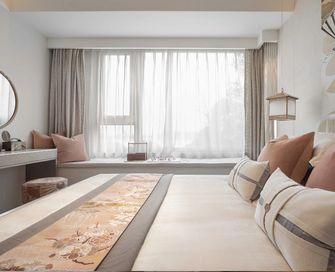 130平米四室四厅日式风格卧室欣赏图