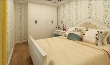 80平米田园风格卧室欣赏图
