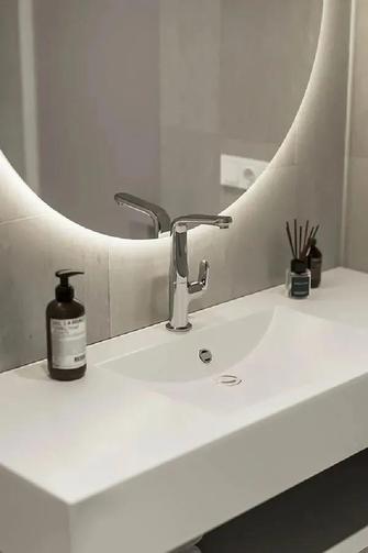 80平米现代简约风格卫生间装修效果图