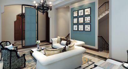 20万以上140平米别墅法式风格楼梯效果图