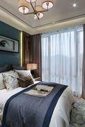120平米三室两厅中式风格卧室图