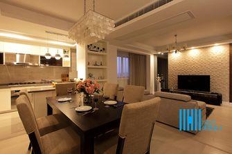 110平米美式风格餐厅图片