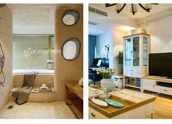 140平米三室两厅地中海风格卫生间装修图片大全