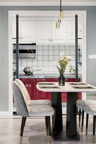 60平米一室一厅欧式风格厨房装修案例