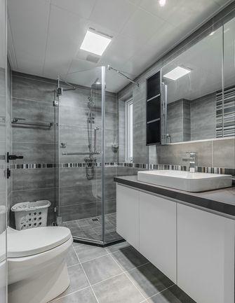 5-10万140平米三室两厅混搭风格卫生间图片