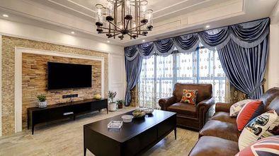 100平米美式风格客厅装修图片大全