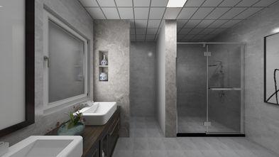 60平米一居室中式风格卫生间设计图