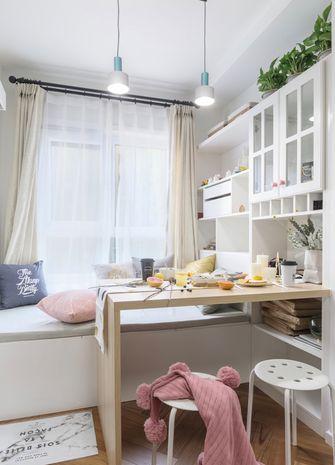 110平米三室两厅北欧风格书房图片