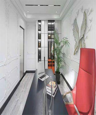 110平米三室两厅法式风格书房装修图片大全