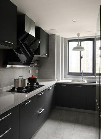 100平米三北欧风格厨房图片