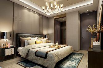 100平米公寓中式风格卧室设计图