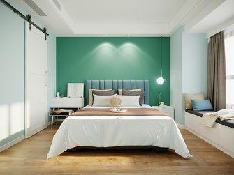 100平米三室一厅北欧风格卧室图