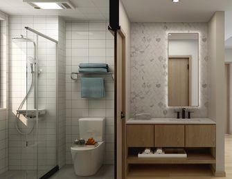 80平米三室两厅日式风格卫生间效果图