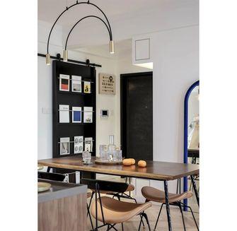 经济型140平米现代简约风格餐厅装修效果图