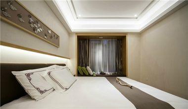 90平米公寓中式风格卧室效果图