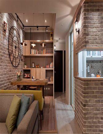 80平米英伦风格客厅装修效果图