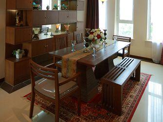 140平米三室一厅东南亚风格餐厅效果图