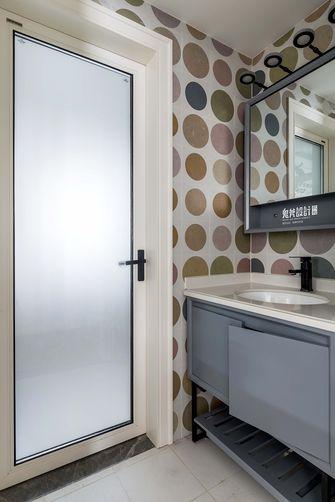 富裕型130平米四室两厅混搭风格卫生间装修案例