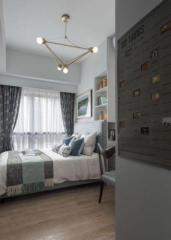 50平米一室一厅北欧风格卧室欣赏图