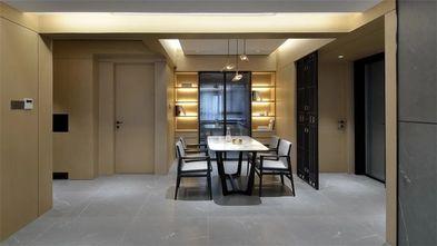 100平米三室一厅现代简约风格餐厅设计图
