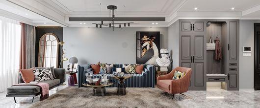 经济型80平米三室一厅欧式风格客厅图片大全