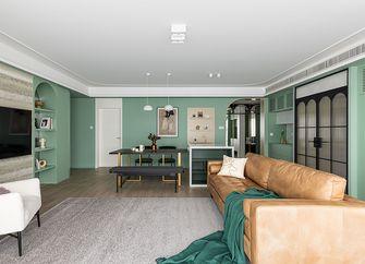 60平米三室两厅法式风格客厅装修案例